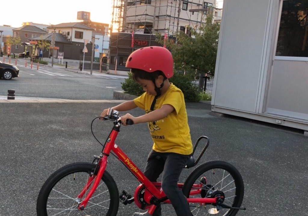 5歳の自転車